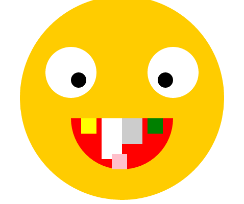 Выдёргиваем зубы у смайлика с помощью ява-скриптов